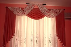 Curtains Stock Images