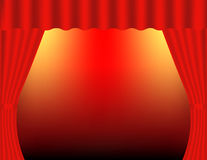 Curtains. Theater Stock Images