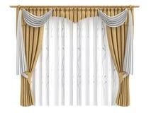 Curtains Royalty Free Stock Photos
