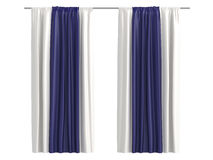 Curtains Stock Photography