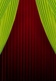 Curtains background Royalty Free Stock Image
