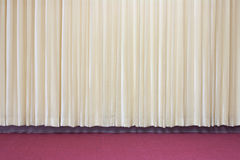 Curtains Stock Photo