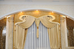 Curtains classic Royalty Free Stock Photography