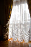 Curtains create comfort Royalty Free Stock Image