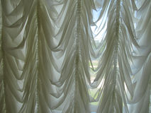 Curtains. In the office of Count Razumovsky Stock Images