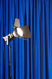 Curtains and projector Royalty Free Stock Photography