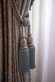 Curtains in royal palace Amsterdam Stock Photography