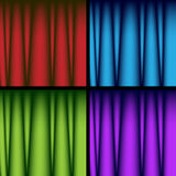 Curtains - Set Stock Photos