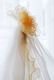 Curtains of tulle Stock Image