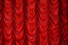 Curtain on a window, a curtain Stock Photos