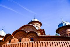 Curtea de Argeș Monastery Stock Photo