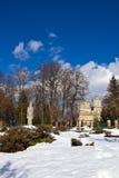 Curtea de Arges μοναστήρι το χειμώνα Στοκ φωτογραφία με δικαίωμα ελεύθερης χρήσης
