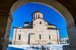 Curtea de Arges πόλη, Ρουμανία Στοκ Εικόνες