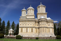 Curtea de Arges Cathedral - berühmte Kirche des Rumänen Stockfoto