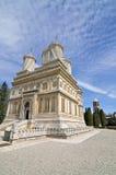 Curtea de Arges church. Facade near Bucharest in Romania Stock Image