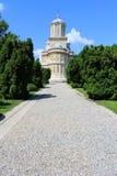 Curtea de Arges Kloster, Rumänien royaltyfria bilder
