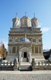 Curtea de Arges Monastério, joia de Wallachias fotos de stock
