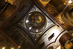Curtea de Arges Monastery, Ρουμανία Στοκ εικόνα με δικαίωμα ελεύθερης χρήσης