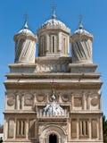 Curtea de arges monastery. Front view of Arges Monastery in Curtea de Arges, Romania Stock Photography