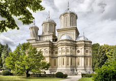 Curtea de Arges monastery royalty free stock photography