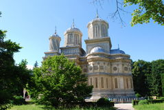 Curtea de Arges monastery Stock Photo