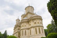 Curtea de Arges. The monastery Curtea de Arges in Arges, Romania Royalty Free Stock Photography