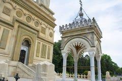 Curtea de Arges. The monastery Curtea de Arges in Arges, Romania Royalty Free Stock Photos