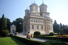Curtea de Arges Monastery, Romania Royalty Free Stock Photos
