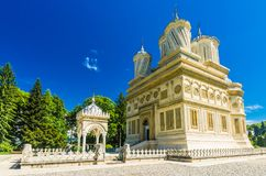 Curtea de Arges monastery, Romania. Stock Photos