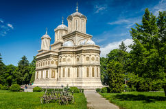 Curtea de Arges monastery, Romania. Royalty Free Stock Image