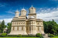 Curtea de Arges monastery, Romania. Stock Image