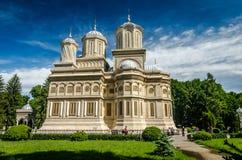 Curtea de Arges monastery, Romania. Stock Photo