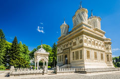 Curtea de Arges Monastery, Roumanie Photographie stock libre de droits