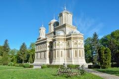 Curtea de Arges Monastery, Roumanie du 16ème siècle Images libres de droits