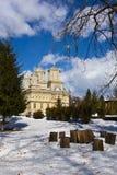 Curtea de Arges Monastery in winter Stock Images