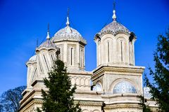Curtea de Argeș Monastery Stock Images