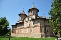 Curtea Domneasca kyrka Royaltyfria Foton