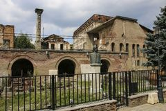 Curtea Veche η παλαιά πριγκηπική κατοικία δικαστηρίου των πριγκήπων ο στοκ εικόνα με δικαίωμα ελεύθερης χρήσης