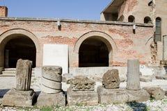 Curtea Veche (老王侯的现场),布加勒斯特 免版税库存照片