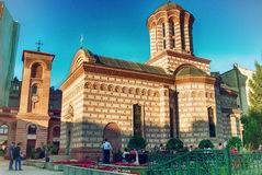 Curtea Veche Church In Bucharest Royalty Free Stock Photos