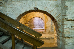 Curtea Veche Interior (the Old Princely Court) Royalty Free Stock Photography