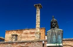 Curtea Veche (la vieille cour princière) à Bucarest Images libres de droits