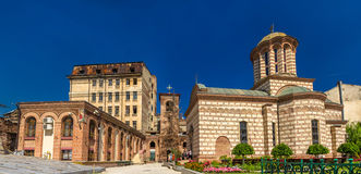 Curtea Veche, a residence of Vlad III Dracula. In Bucharest Royalty Free Stock Images