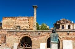 Curtea Veche w Bucharest (Stary Książęcy sąd) Obrazy Stock