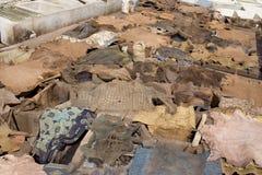 Curtiduría del Berber Fotografía de archivo