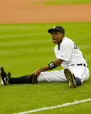 Curtis Granderson of the Detroit Tigers stock image