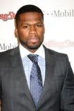 Curtis Jackson aka «50Cent» arrive au coup 2011 de Pré-oscar de Rolling Stone Photos stock