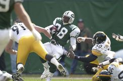 Curtis Martin New York Jets images stock