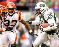 Curtis Martin New York Jets Image stock