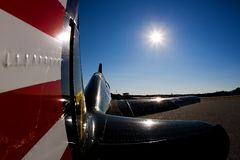 The Curtis P-36 Hawk Stock Images